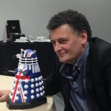 Un entusiasta Steven Moffat alla Doctor Who Official 50th Celebration