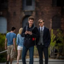 The Amazing Spider-Man 2: Andrew Garfield e Dane DeHaan scherzano insieme