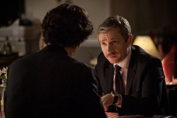 Benedict Cumberbatch Con Martin Freeman In Un Immagine Della Terza Stagione Della Serie Tv Sherlock 294309