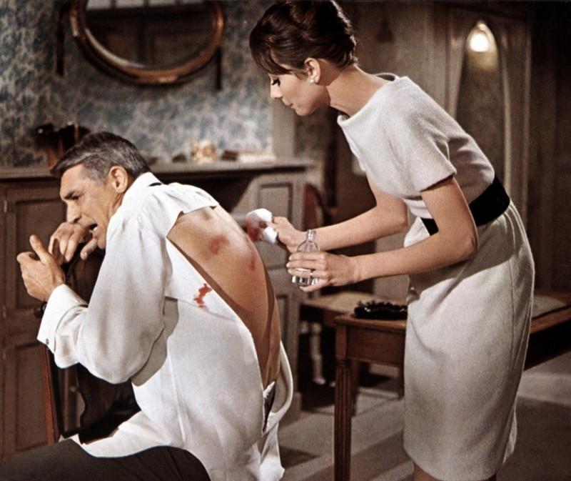 Cary Gran E Audrey Hepburn In Sciarada 1963 294288