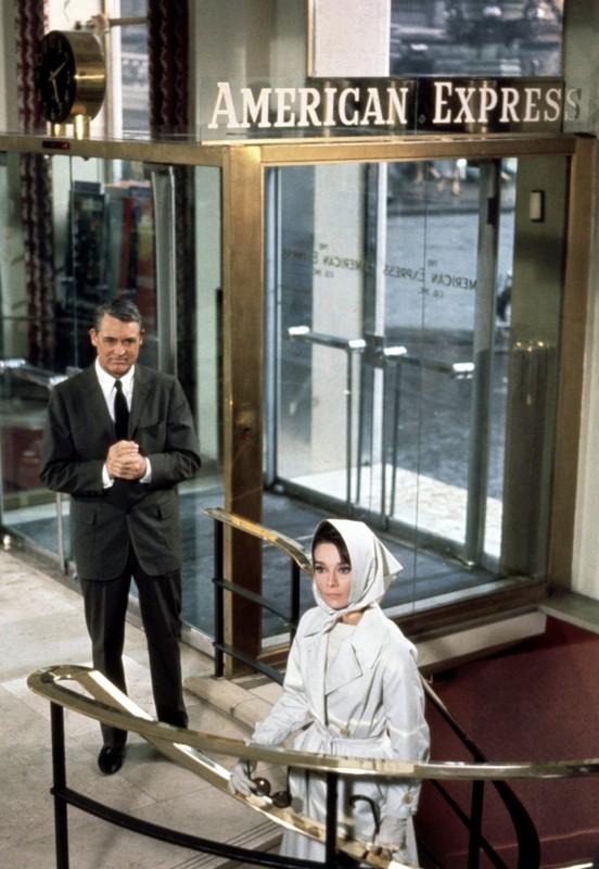 Cary Gran E Audrey Hepburn In Sciarada Del 1963 294289
