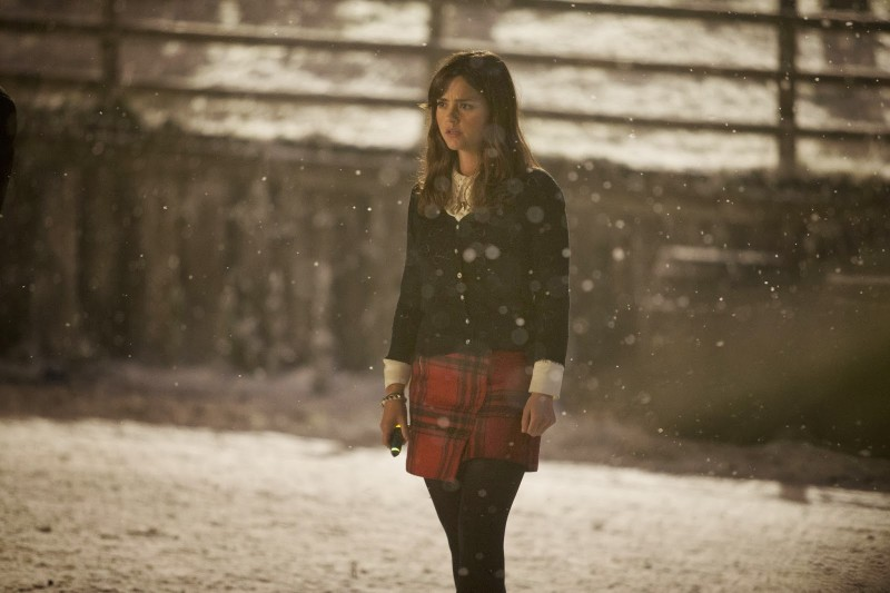 Doctor Who Jenna Louise Coleman Nello Speciale Natalizio The Time Of The Doctor 294239