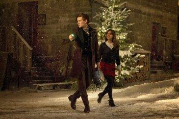 Doctor Who: Matt Smith e Jenna-Louise Coleman nello speciale natalizio The Time of the Doctor