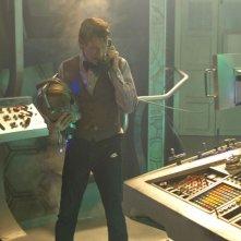 Doctor Who: Matt Smith in una scena dello speciale natalizio The Time of the Doctor