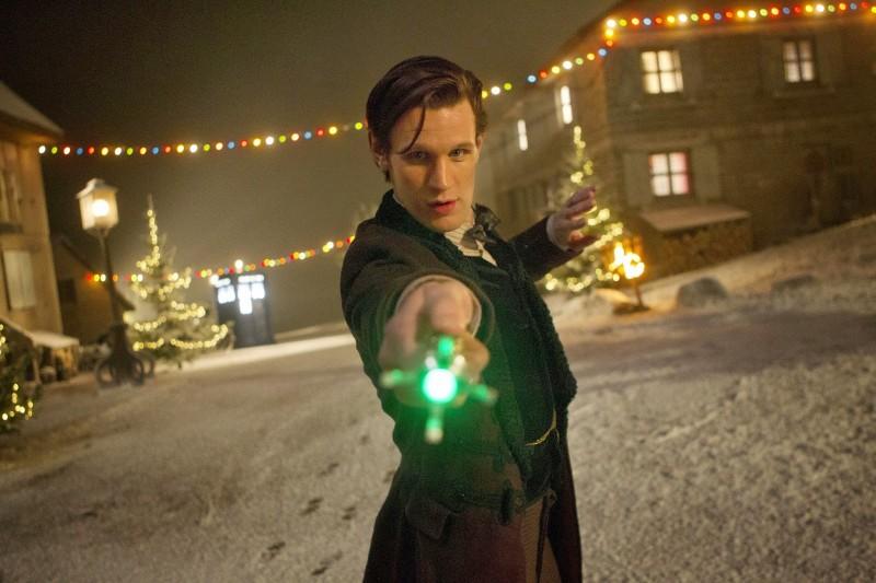 Doctor Who Matt Smith Nello Speciale Natalizio The Time Of The Doctor 294238