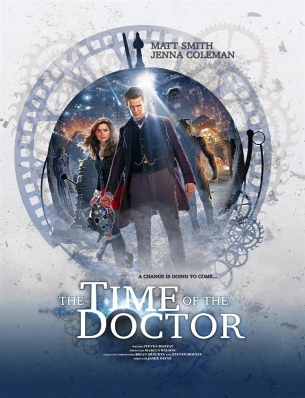 Doctor Who Un Poster Promozionale Per L Episodio Natalizio The Time Of The Doctor 294262