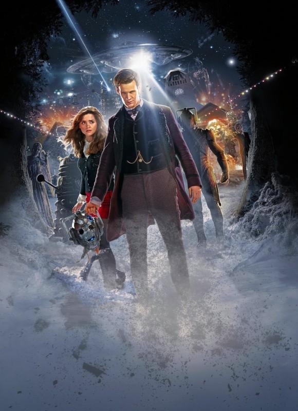 Doctor Who Una Nuova Immagine Promozionale Per L Episodio Natalizio The Time Of The Doctor 294241