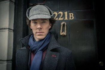 Sherlock: Benedict Cumberbatch in un'immagine della terza stagione