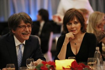 Il capitale umano: Fabrizio Bentivoglio in una scena del film con Valeria Golino