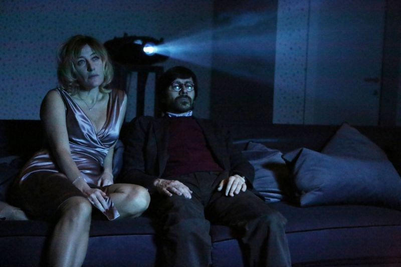 Il capitale umano: Valeria Bruni Tedeschi in una scena con Luigi Lo Cascio