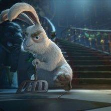 Il castello magico: coniglio combattivo in una scena del film