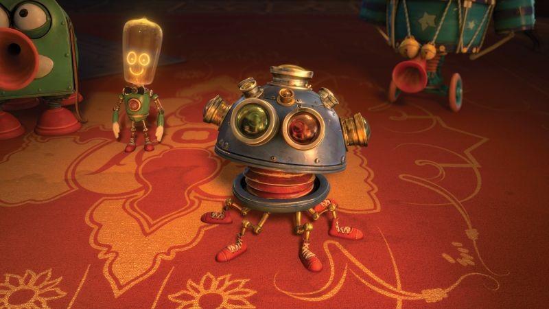Il Castello Magico Robottini Misteriosi In Una Scena Del Film 294487