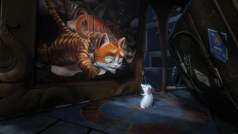 Il Castello Magico Una Scena Del Film D Animazione 294483