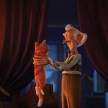 Il castello magico: una tenera immagine del film animato