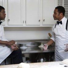 The Butler - Un maggiordomo alla Casa Bianca: Cuba Gooding Jr. e Forest Whitaker in una scena del film