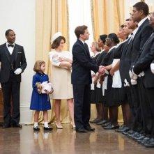 The Butler - Un maggiordomo alla Casa Bianca: James Mardsen in una scena con Minka Kelly