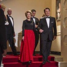 The Butler - Un maggiordomo alla Casa Bianca: Jane Fonda in una scena con Alan Rickman