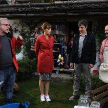 Un boss in salotto: Luca Miniero sul set con Paola Cortellesi, Luca Argentero e Rocco Papaleo