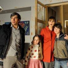 Un boss in salotto: Paola Cortellesi con Luca Argentero in un'immagine del film