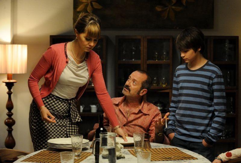 Un Boss In Salotto Paola Cortellesi Con Rocco Papaleo In Una Scena 294474