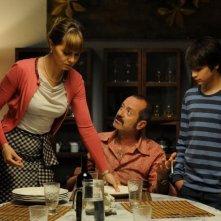 Un boss in salotto: Paola Cortellesi con Rocco Papaleo in una scena