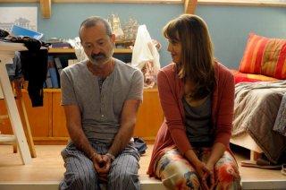Un boss in salotto: Paola Cortellesi insieme a Rocco Papaleo in una scena del film
