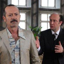 Un boss in salotto: Rocco Papaleo in una scena del film con Alessandro Besentini