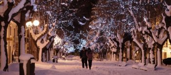 Neve: una scena del film