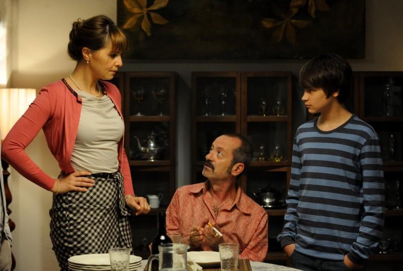Un Boss In Salotto Paola Cortellesi Con Rocco Papaleo In Una Scena Del Film Foto Esclusiva 294519