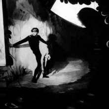 Una scena del classico Il gabinetto del Dottor Caligari