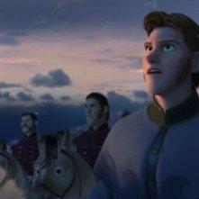 Frozen: Hans, membro della famiglia reale, in un'immagine del film