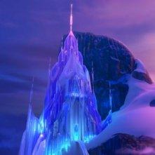 Frozen: il palazzo di ghiaccio in una scena del film