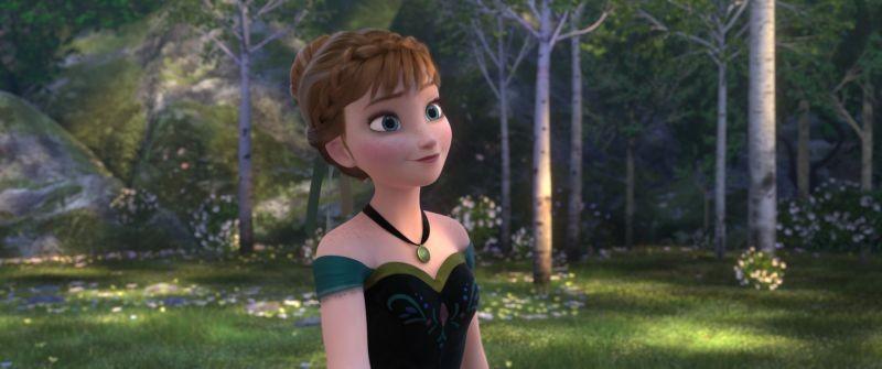 Frozen La Bella Anna In Una Scena Del Film 294636