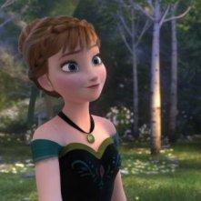 Frozen: la bella Anna in una scena del film