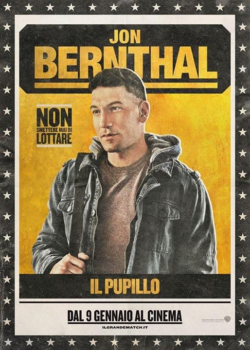 Il Grande Match Character Poster Italiano Per Jon Bernthal 294660