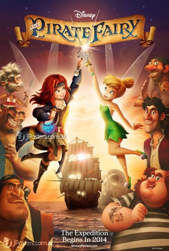 The Pirate Fairy La Locandina Del Film 294679