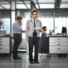 Ben Stiller, regista e protagonista del film, in una scena de I sogni segreti di Walter Mitty