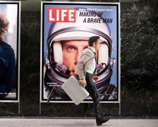I sogni segreti di Walter Mitty: Ben Stiller corre verso i suoi sogni in una scena del film