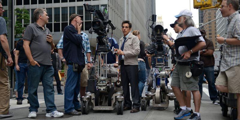 I Sogni Segreti Di Walter Mitty Il Regista E Interprete Del Film Ben Stiller Sul Set 294704