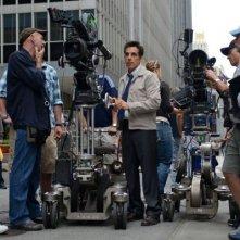 I sogni segreti di Walter Mitty: il regista e interprete del film Ben Stiller sul set