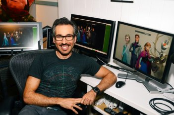 Frozen - Il regno del ghiaccio: l'Head of Animation Lino DiSalvo