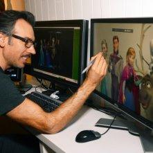 Frozen - Il regno del ghiaccio: Lino DiSalvo al lavoro sul film Disney