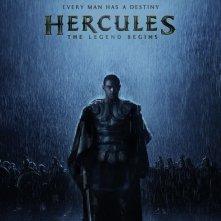 Hercules 3D: la locandina internazionale del film