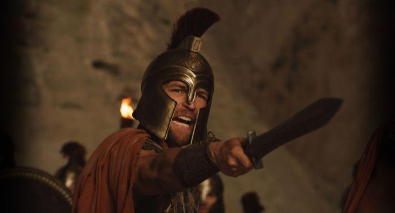 Hercules La Leggenda Ha Inizio Il Protagonista Kellan Lutz In Una Scena Concitata Del Film 294933