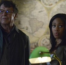 Nicole Beharie e John Noble in Sleepy Hollow, episodio The Golem