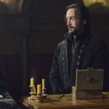 Tom Mison e John Noble in Sleepy Hollow, episodio The Golem
