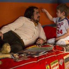 American Hustle: Christian Bale in una scena del film