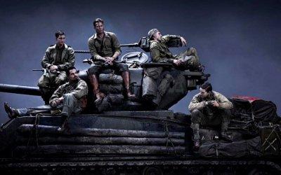 Fury: Brad Pitt sul carro armato, un bastardo pieno di gloria
