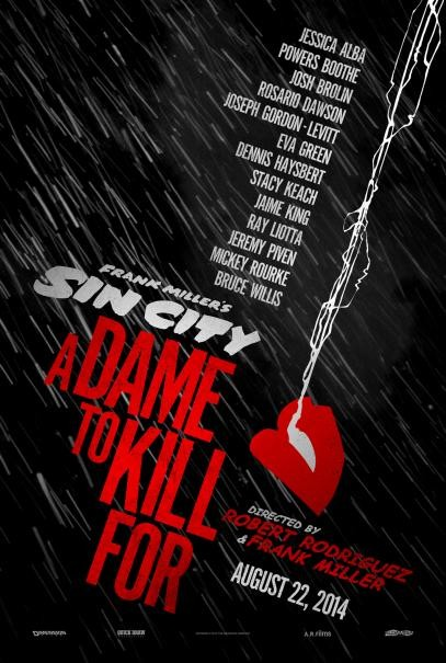 Sin City A Dame To Kill For Ecco Il Nuovo Teaser Poster 295007