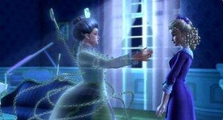 Un'immagine del film Barbie e il canto di Natale